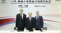 Audi and FAW Group ink strategic growth plan for China