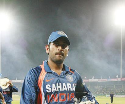 Dhoni takes a dig: 'It was more English wicket than Indian'
