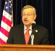 Iowa Governor Terry Branstad ON Ted Cruz Unethical Tactics at Iowa Caucus Audio