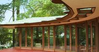 Frank Lloyd Wright beach house listed on Airbnb for under $150 per night