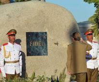 Fidel Castro's tomb visited by around 70,000 people in a month