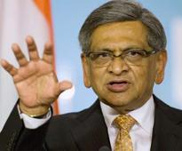 S M Krishna resigns from Congress