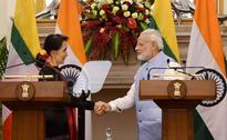 Suu Kyi in Delhi: India-Myanmar to strive for cooperation on security & trade
