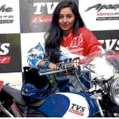Shreya Iyer: TVS Racing signs first woman rider for Indian National Rally championship