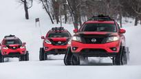 Nissan's Winter Warrior concept cars look more like snow tanks