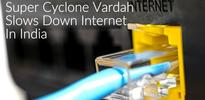 Super Cyclone Vardah Slows Down Internet In India; Airtel, Vodafone, ACT, YOU Broadband Alert Their Users