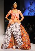 PICS: A riot of colours on the LFW runway