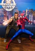 Jack Wilshere, Kyle Walker and Michel Vorm attend opening of Marvel Universe LIVE! at The O2