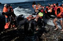 UN chief in Greece sees tremendous challenge of migrant crisis