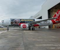 AirAsia unveils new re-branded aircraft for Rajini's new movie Kabali