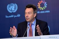 President of int'l Committee of Red Cross speaks at press briefing