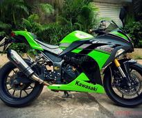 Kawasaki Ninja 300 after 44 mods and INR 4 lakh  Is this the most customized Kwacker in India?