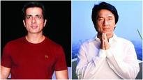 Sonu Sood wants to give Jackie Chan a grand welcome