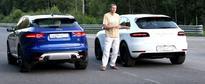 Jaguar F-Pace S vs. Porsche Macan GTS Drag Race Proves German HP Superiority