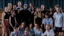 The day Justin Timberlake surprised Newtown students