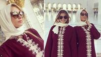 Photos: Paris Hilton slays the abaya look at Sheikh Zayed Grand Mosque