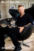 Bob Harper And His Dog Karl [STARS & THEIR PETS EXCLUSIVE]
