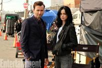 SEE PIC: David Tennant is back on the sets of 'Jessica Jones'