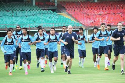 Indian football round-up: Team re-enters top-100 in FIFA rankings