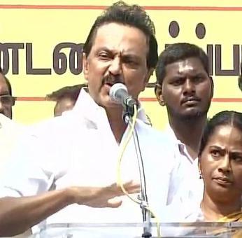 DMK protests against Jallikattu ban, Stalin slams PM
