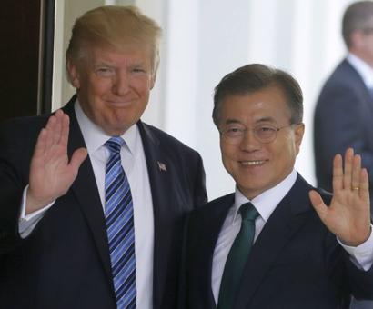 Days of strategic patience with North Korea over, warns Trump