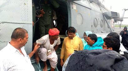 Gujarat floods: IAF carries out rescue ops; PM to take aerial survey