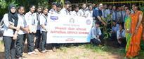 Mangaluru: Mahesh College students plant saplings at KPT for Vanamahotsava