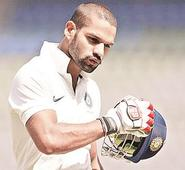 Dhawan looks good as Delhi score 37/0 after Rajasthan's 238