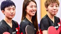 Olympics: Singapore's women table tennis team takes on world champions