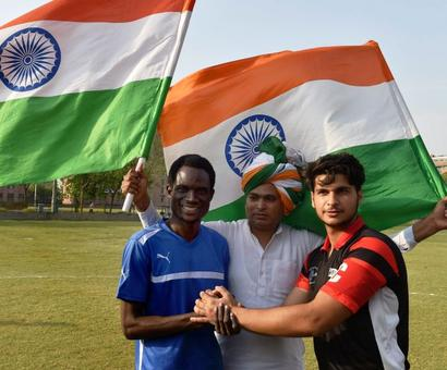 Football match to build bridges with African students