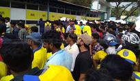 ISL opener: Fans paint Kochi stadium yellow