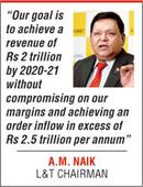 L&T aims to double sales in 5 years