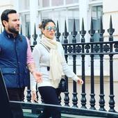Watch: Saif and Kareena spotted taking long strolls on the streets of London