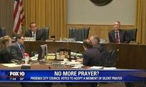 Phoenix City Council frustrates Satanists' planned invocation by adopting silent prayer for meeting