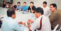 Workshop for the Mumbai junior and senior selectors