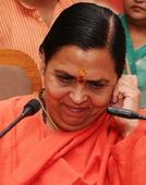 Host MP Uma Bharti conspicuous by her absence