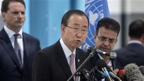 UN chief visits besieged Gaza Strip