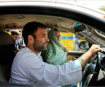 Someone Pulled A Prank On Rahul Gandhi, Got Him UP Police's Clearance As A Driver