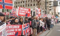 Global protests to condemn 'legal kidnapping' in Norway