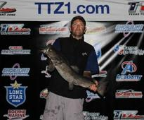 Man enters bass tournament, reels in potentially record-breaking catfish for Lake Austin