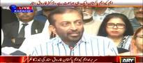 MQM Pakistan announces Awami Rabita Campaign: Farooq Sattar