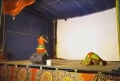 Dancer dies on stage, viewers think it's part of the act