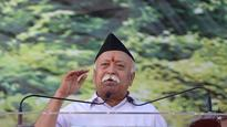 Shiv Sena takes a dig at Mohan Bhagwat's Hindu population comment