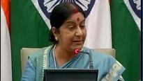 No Indians have lost jobs yet: Sushma Swaraj on H1B visa policy