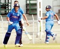 Rahul Dravid-led U-19 Indian cricket team stun Board Presidents XI