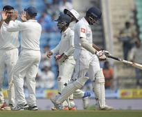 India bundle out Sri Lanka for 205 in first innings of second Test