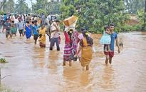 Rains: 10,000 families moved to safe places in Vizag dist.