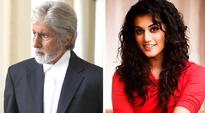 Working with Amitabh Bachchan was an unsettling experience for Taapsee