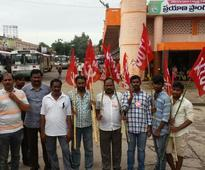 Mixed response to union strike in West Bengal