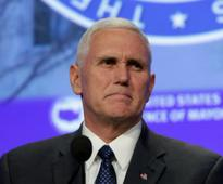 Notre Dame students walk out of Mike Pence speech slamming political correctness on campuses